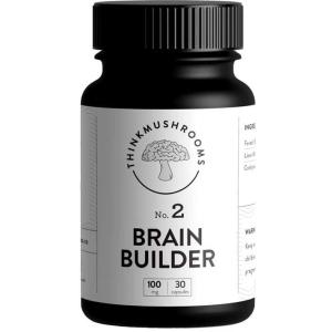Think Mushrooms Brain Builder Psilocybin Microdosing Capsules Online Canada