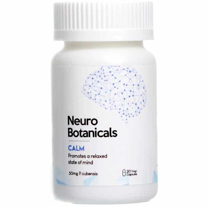 Neuro Botanicals Calm Builder Psilocybin Microdosing Capsules Online Canada