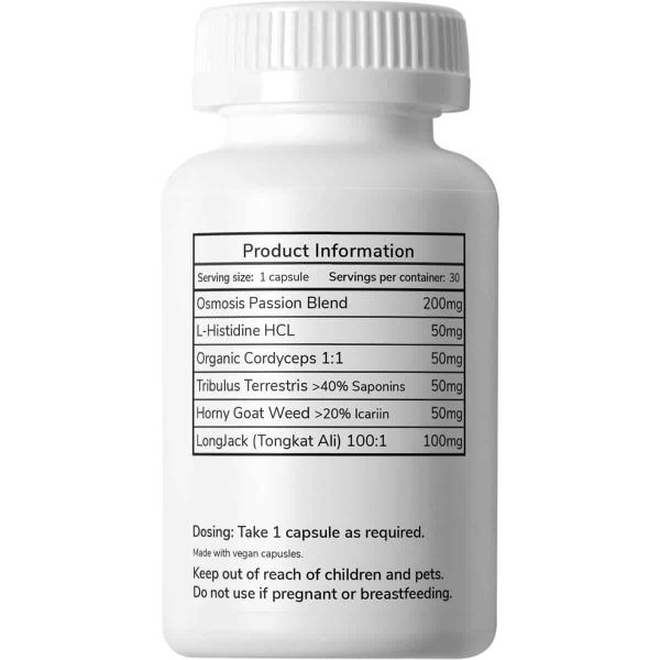 Osmosis Passion Aphrodisiac Microdosing Capsules Online