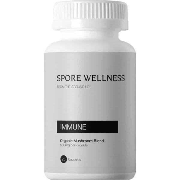 Spore Wellness Immune Microdosing Capsules Magic Mushrooms Online Canada