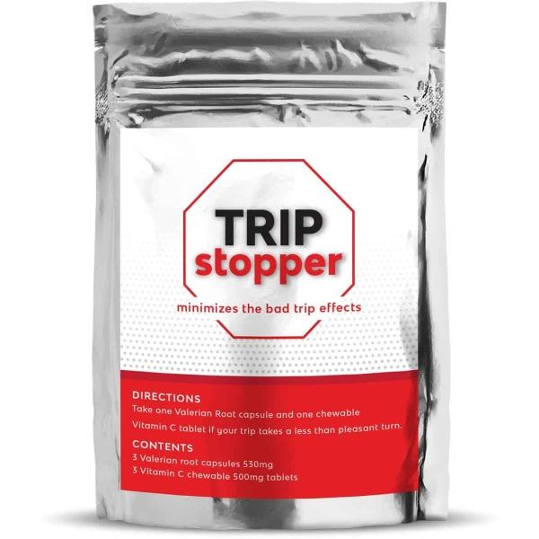 Trip Stopper Magic Mushroom Vitamin C and Valerian Root